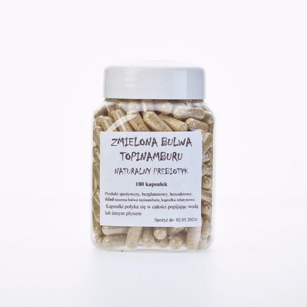 Prebiotyk roślinny topinambur w kapsułkach